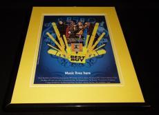 Black Eyed Peas / Best Buy 2006 Framed 11x14 ORIGINAL Vintage Advertisement