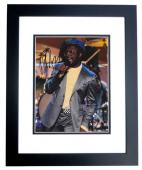 Black Eyed Peas Will I Am Signed - Autographed 8x10 Concert Photo BLACK CUSTOM FRAME - Guaranteed to pass PSA or JSA - Rapper/Actor