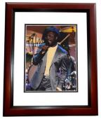 Black Eyed Peas Will I Am Signed - Autographed 8x10 Concert Photo MAHOGANY CUSTOM FRAME - Guaranteed to pass PSA or JSA - Rapper/Actor
