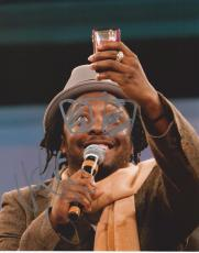 Black Eyed Peas WILL.I.AM Signed 8x10 Photo
