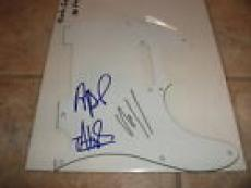 Black Eyed Peas X3 Will I Am  Signed Autographed Guitar Pickguard Pick Guard
