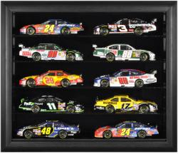10-Die-Cast Car Black Framed Wall Mount Display Case - Mounted Memories