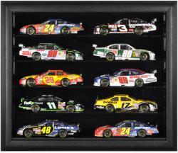 10-Die-Cast Car Black Framed Wall Mount Display Case