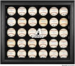 Arizona Diamondbacks Engraved Logo Black Framed 30-Ball Display Case  - Mounted Memories