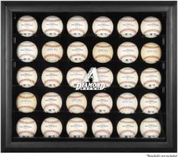 Arizona Diamondbacks Engraved Logo Black Framed 30-Ball Display Case  - Mounted Memories