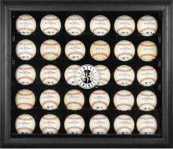 Seattle Mariners Logo Black Framed 30-Ball Display Case
