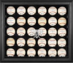 Pittsburgh Pirates Logo Black Framed 30-Ball Display Case