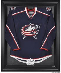 Columbus Blue Jackets Black Framed Logo Jersey Display Case