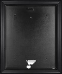 St. Louis Blues Black Framed Logo Jersey Display Case