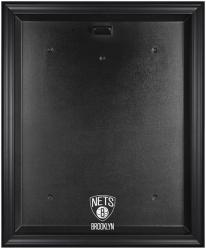 NBA Brooklyn Nets Black Framed Logo Jersey Display Case - Mounted Memories