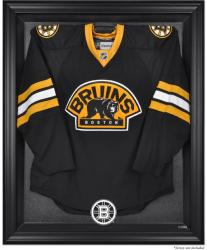 Boston Bruins Black Framed Logo Jersey Display Case