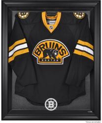 Boston Bruins Black Framed Logo Jersey Display Case