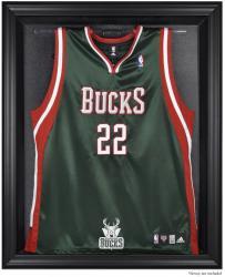 Milwaukee Bucks Black Framed Team Logo Jersey Display Case