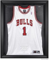 Chicago Bulls Black Framed Team Logo Jersey Display Case - Mounted Memories