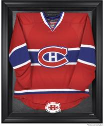 Montreal Canadiens Black Framed Logo Jersey Display Case - Mounted Memories