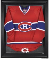 Montreal Canadiens Black Framed Logo Jersey Display Case