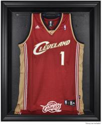 Cleveland Cavaliers Black Framed Team Logo Jersey Display Case - Mounted Memories