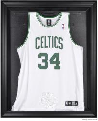 Boston Celtics Black Framed Team Logo Jersey Display Case - Mounted Memories