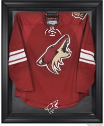 Phoenix Coyotes Black Framed Logo Jersey Display Case - Mounted Memories