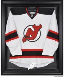 New Jersey Devils Black Framed Logo Jersey Display Case