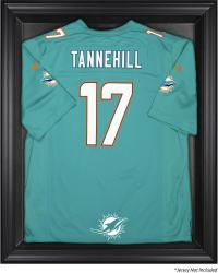 Miami Dolphins Black Framed Jersey Display Case - Mounted Memories