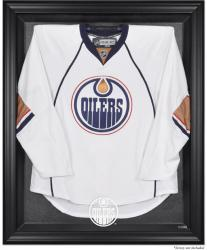 Edmonton Oilers Black Framed Logo Jersey Display Case