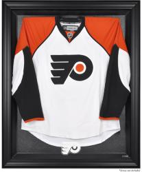Philadelphia Flyers Black Framed Logo Jersey Display Case - Mounted Memories
