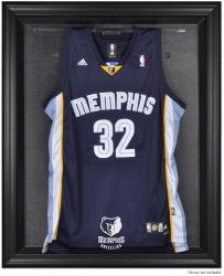 Memphis Grizzlies Black Framed Team Logo Jersey Display Case - Mounted Memories