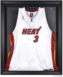 Miami Heat Black Framed Team Logo Jersey Display Case - Mounted Memories