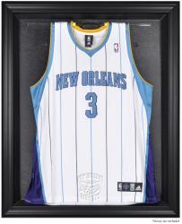 New Orleans Hornets Black Framed Team Logo Jersey Display Case