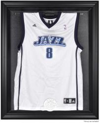 Utah Jazz Black Framed Team Logo Jersey Display Case