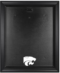 Kansas State Wildcats Framed Logo Jersey Display Case - Mounted Memories
