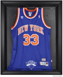 New York Knicks Black Framed Team Logo Jersey Display Case