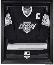 Los Angeles Kings Black Framed Logo Jersey Display Case - Mounted Memories