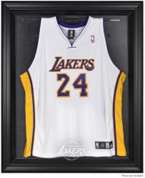 Los Angeles Lakers Black Framed Team Logo Jersey Display Case - Mounted Memories
