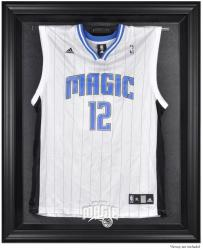 Orlando Magic Black Framed Team Logo Jersey Display Case - Mounted Memories