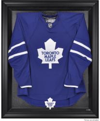 Toronto Maple Leafs Black Framed Logo Jersey Display Case