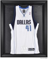 Dallas Mavericks Black Framed Team Logo Jersey Display Case - Mounted Memories