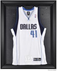 Dallas Mavericks Black Framed Team Logo Jersey Display Case
