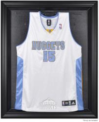 Denver Nuggets Black Framed Team Logo Jersey Display Case - Mounted Memories