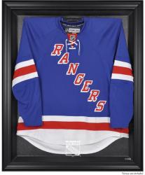 New York Rangers Black Framed Logo Jersey Display Case