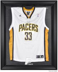 Indiana Pacers Black Framed Team Logo Jersey Display Case - Mounted Memories