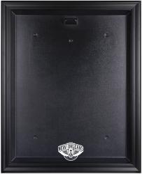 New Orleans Pelicans Black Framed Logo Jersey Display Case