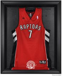 Toronto Raptors Black Framed Team Logo Jersey Display Case - Mounted Memories