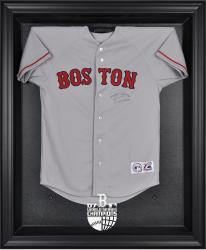 Boston Red Sox 2007 World Series Champions Black Framed Logo Jersey Display Case - Mounted Memories
