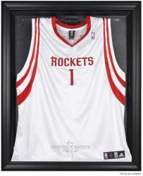 Houston Rockets Black Framed Team Logo Jersey Display Case - Mounted Memories