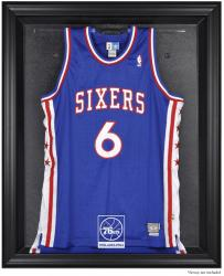 Philadelphia 76ers Black Framed Team Logo Jersey Display Case - Mounted Memories