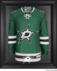 Dallas Stars Black Framed Logo Jersey Display Case - Mounted Memories