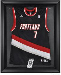 Portland Trail Blazers Black Framed Team Logo Jersey Display Case - Mounted Memories
