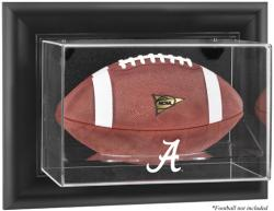 Alabama Crimson Tide Black Framed Wall-Mountable Football Display Case - Mounted Memories